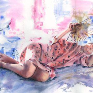 Akwarela - obrazy Tatiany Majewskiej